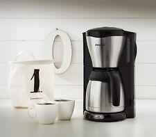 Philips Café Gaia HD7546 Schwarz/Edelstahl 15 Tassen Filter-Kaffeemaschine