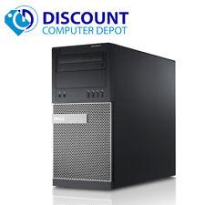 Fast Dell Optiplex Desktop Computer Windows 10 Tower Core i3 PC 4GB 160GB Wifi
