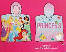 BNWT PRIMARK Disney Princess Hooded Towel For Girls Kids Beach Pool