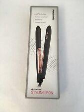 Panasonic Nanoe Hair Styling Iron EH-HS99-K, Flat Iron Hair Straightener with Ce
