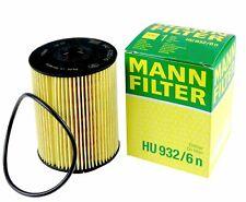 Mann-filter Oil Filter HU932/6n fits VW GOLF MK III 1H1 2.8 VR6