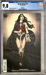 Wonder Woman (2018) #50 CGC 9.8 Jenny Frison Variant Cover!