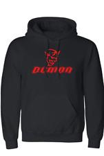 New Dodge Demon Men's Hooded Sweatshirt Black & Red Demon Hoodie Men's XL