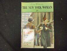 1936 SEP 23 THE NEW YORK WOMAN MAGAZINE - VOLUME 1, NUMBER 3 - ST 3805