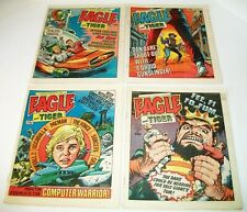 Eagle And Tiger  #214-#217 4 Issue Lot 1986 IPC Magazines London Newsprint