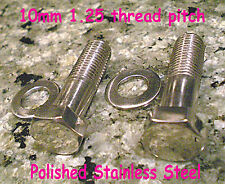 Honda CB450 Front Fork, Rear Shock or Headlight Bolts & Washers-Stainless Steel