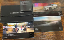 MERCEDES A CLASS OWNERS PACK / HANDBOOK / MANUAL WITH WALLET 2018~2021 (2018) #1