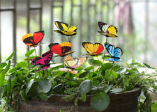 Home Decore Ideas Outdoor Flower Butterflies Garden Decoration 25 Pcs Removable