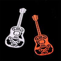 1pc Guitar Metal Cutting Dies Stencils for Scrapbooking DIY Cards Making Deco ZR