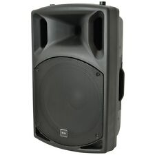"QTX QX Series QX15A 15"" 500W Active Powered Moulded PA DJ Speaker SINGLE"