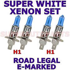 SAAB 9000 1992-1997 SET H1 H1 SUPER WHITE XENON LIGHT BULBS