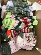 Wholesale LOT 60 Pairs Holiday Christmas Womens Socks Assorted NWT