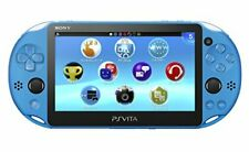 SONY PS Vita PCH-2000 ZA23 Aqua Blue Consola Wi-fi Model Playstation PSP Japan