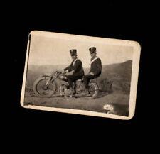 Fotografia carabinieri su motocicletta '900