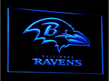New Custom Baltimore Ravens LED Neon Light Signs Bar Man Cave 7 colors to choose