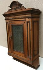 Large antique french black forest pharmacy cabinet furniture 19th century wood