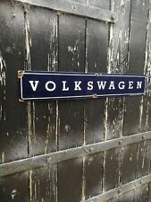 Vw enamel sign volkswagen enamel sign vw dealership sign porcelain sign