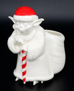 Hallmark Star Wars Santa Yoda Christmas Candy Cane PROMO SALES SAMPLE NEVER SOLD