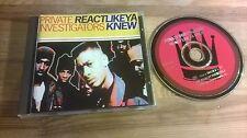 CD Hiphop Private Investigators - React Like Ya Knew (12 Song) VIRGIN REC