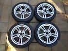 "BMW 18"" 400m Alloys Wheels & Winter Tyres BMW F30 F32 3 4 Series 225 45 & 255 40"