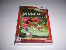 Original Box Case for PIKMIN 2 TWO SELECTS  w/ Manual & Inserts Nintendo Wii