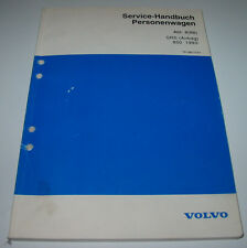 Werkstatthandbuch Volvo 850 SRS Airbag Fehlersuche Reparatur ab Baujahr 1993
