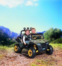 NEW Peg Perego Polaris RZR 900 CAMO Ride On Battery Girls and Boys Fun 3-7 Years