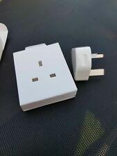 100% Original Apple 5W USB Adaptador de Alimentación Cargador De Pared 3 Pines Enchufe de Reino Unido IPHONE IPAD