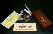 Schrade 897UH Knife USA Uncle Henry Circa-1970's W/Original Box & Paperwork Rare