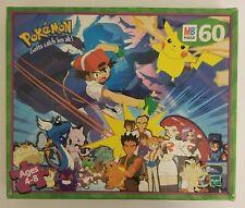 Pokémon Team 60 Piece Puzzle 1999 Nintendo Milton Pokemon Pikachu Complete