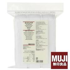 MUJI MoMA Daily Facial Cotton Pad Puff 189 sheets 60x50mm Made in Japan By SAL F