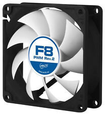 Arctic Cooling F8 PWM PST 80mm Quiet Case Fan 2000 RPM 4 Pin 31 CFM
