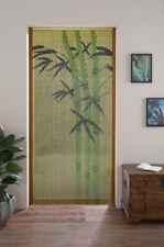 Bambusvorhang Tür-Vorhang Fliegenschutz Insektenschutz Bambus Bamboo 90x200