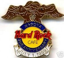 Hard Rock Cafe NAGOYA 1999 2nd Anniversary PIN 2 Eagles & Logo LE 500 HRC # 6145