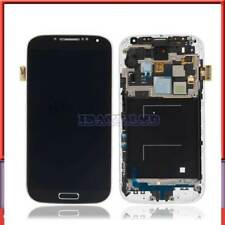 For Samsung Galaxy S4 R970 SCH-I545 SPH-L720 LCD Screen Touch display+Frame Blue