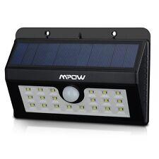 Mpow 20LED Wireless Solar Power Motion Sensor Light Weatherproof For Yard Garden