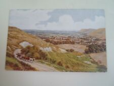 A R QUINTON Postcard 3018 THE SOUTH DOWNS      Unposted  §A2871