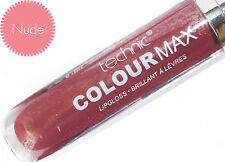 Set of 6 Technic Colour Max Vibrant Lipgloss 8ml Make up Pinks Reds Nudes