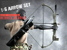"1/6 Arrow Knife Set For First Blood Rambo 12"" Hot Toys Figure SHIP FROM USA"