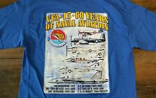 VFA-15 60 years of naval aviation T-Shirt Men's Medium Strikefighter Squadron 15