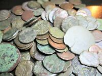 Ancient Coin Lot - Roman Imperial & Greek - (25 Coins) Low Grade
