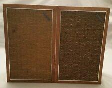 Vintage Kenwood S-40 Cabinet Solid Wood Speakers