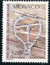 TIMBRE DE MONACO N° 1668 ** INSCRIPTION RUPESTRE / LE CHRIST