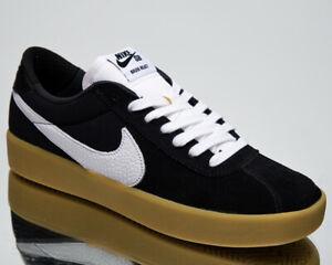 Nike SB Bruin React Men's Black White Skate Athletic Lifestyle Sneakers Shoes