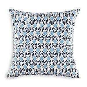 Jr by John Robshaw Vandana 100% Cotton 20 x 20 Decorative Pillow - Indigo