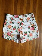 Floral pattern Kimchi Blue high rise short shorts, sz 2