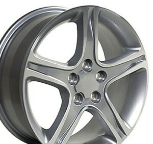"OEW Fits  17"" Wheel Lexus Toyota Camry IS RX ES LX01 Silver Mach'd 74157 17x7"