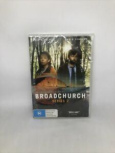 BROADCHURCH Season Two DVD Region 4 UK TV Show Brand New Sealed FREE SHIPPING