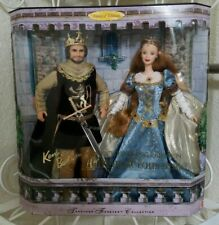 Barbie Ken Doll Set Camelot Queen Guinevere King Arthur Limited Edition