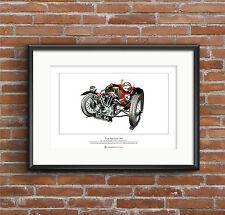 Morgan Super Sports MX4 Limited Edition Fine Art Print A3 size